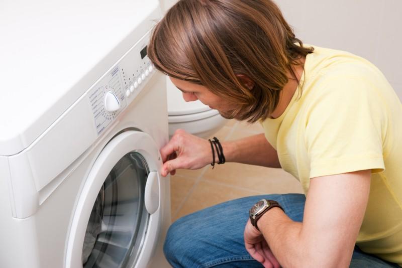 Wasmachine deur gaat niet open