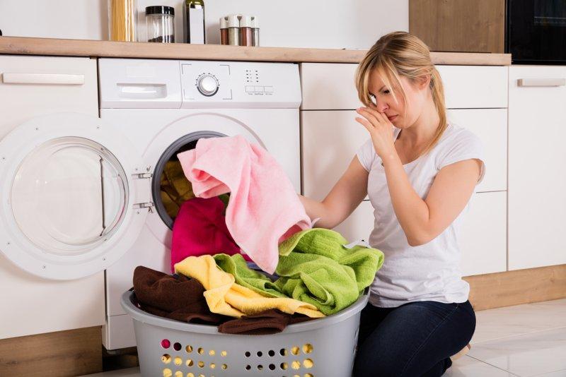Wasmachine stinkt?